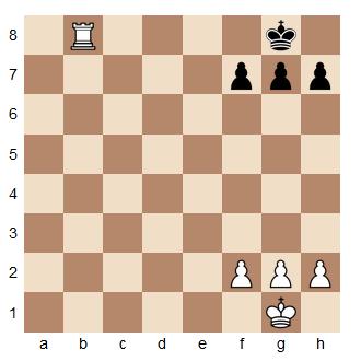 Un exemple de mat aux échecs