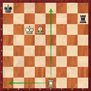 Position finale de la partie Danin - Azarov
