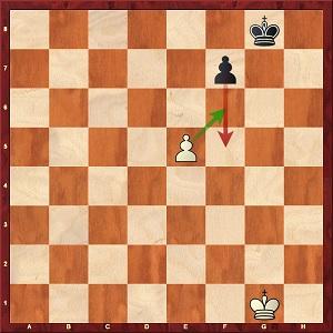 Un exemple de prise en passant aux échecs