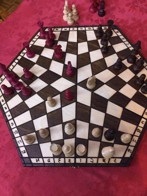 jeu d'échecs à 3