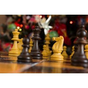 Noël et le jeu d'échecs
